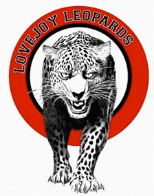 Lovejoy High School Leopard logo